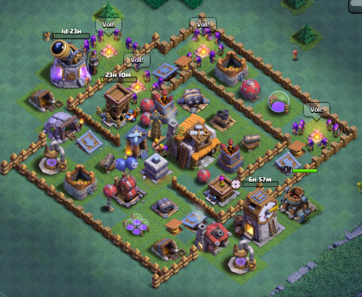 meisterhütte 5 base layout