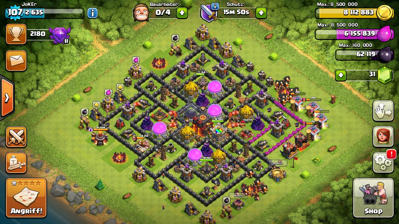 Clash Of Clans Rathaus Level 11